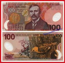 NUEVA ZELANDA NEW ZEALAND 100 Dollars dolares 1999-2006 Polymer Pick 189b UNC