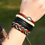 Fashion-Men-Women-Handmade-Genuine-Leather-Bracelet-Braided-Wristband-Bangle miniatura 9