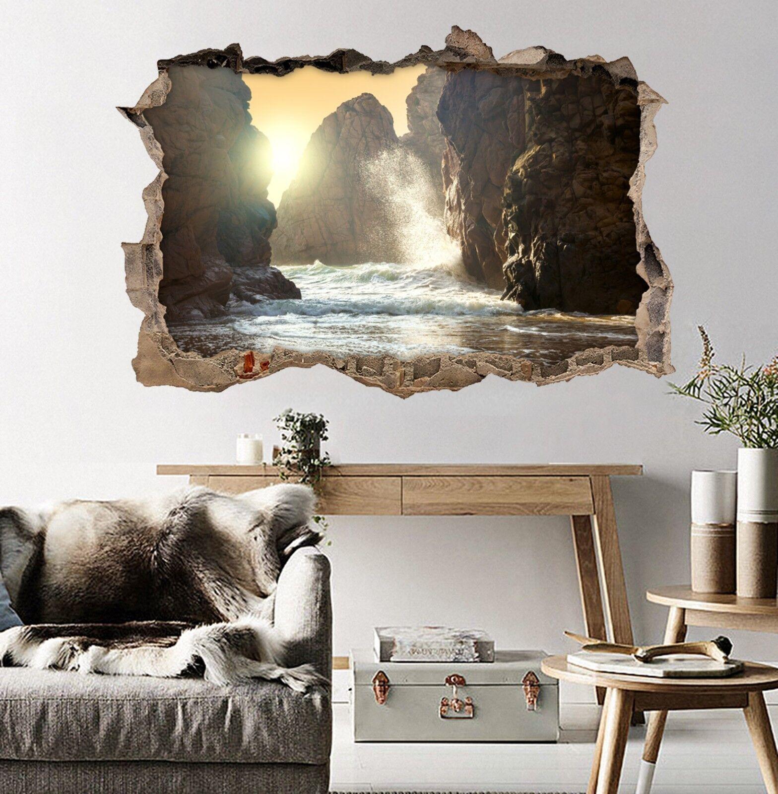 3D Meer Berge 334 Mauer Murals Mauer Aufklebe Decal Durchbruch AJ WALLPAPER DE