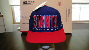 Image is loading NEW-YORK-GIANTS-VINTAGE-APEX-ONE-NFL-PRO- 9a31f1bcb37c