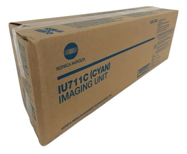 New GENUINE KONICA Bizhub C654 C754 Yellow Imaging Unit IU711Y IU-711Y A2X208D