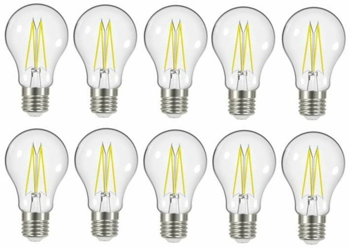 solo per te 10 x Energizer 7.2W 7.2W 7.2W = 60W LED Filamento GLS VINTAGE ES E27 [Classe energetica buona condizione]  di moda