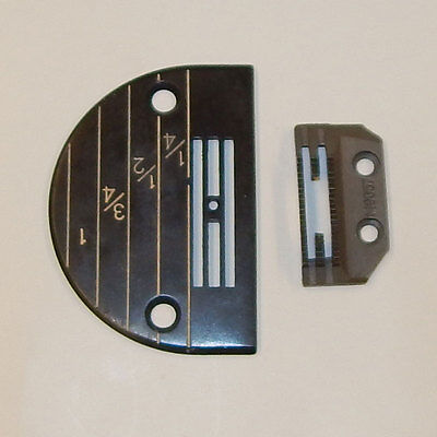 LNKA Feed Dog /& Needle Plate Set 149057+147150LGW for Industrial Sewing Machine Juki Brother Singer 147150LGW