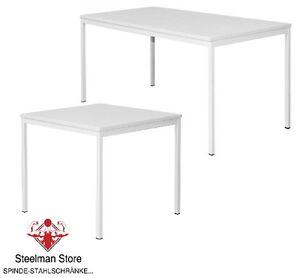 tisch 80 120 160 x 80 cm lichtgrau besprechungstisch schreibtisch b rotisch ebay. Black Bedroom Furniture Sets. Home Design Ideas