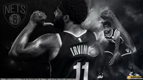 "229 Kyrie Irving 11 Brooklyn Nets NBA MVP Basketball 42/""x24/"" Poster"