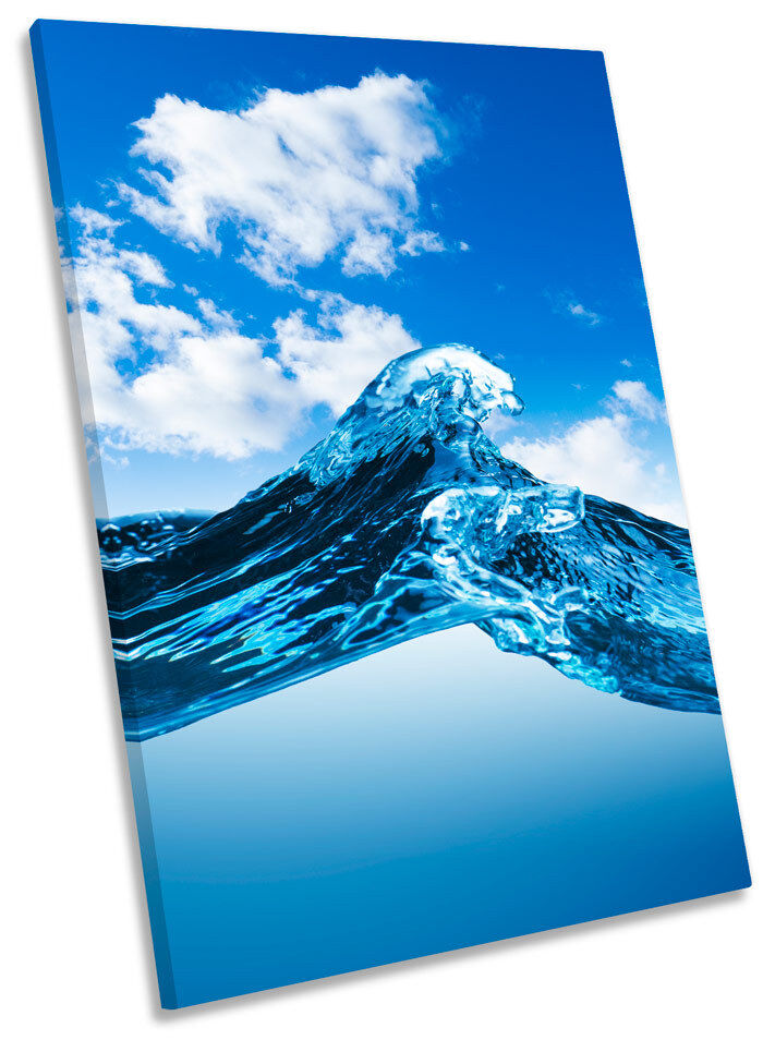 Water Wave Seascape Framed CANVAS WALL ART Print Picture Picture Picture 4beec8