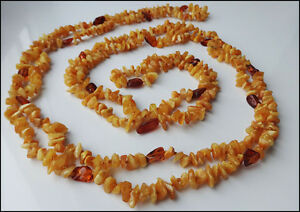 Natural Cherry Baltic Amber Necklace 200cm 788 Inch Ebay