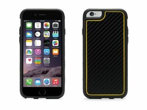 Griffin-Identity-Graphite-Case-for-Apple-iPhone-6-Black-Yellow