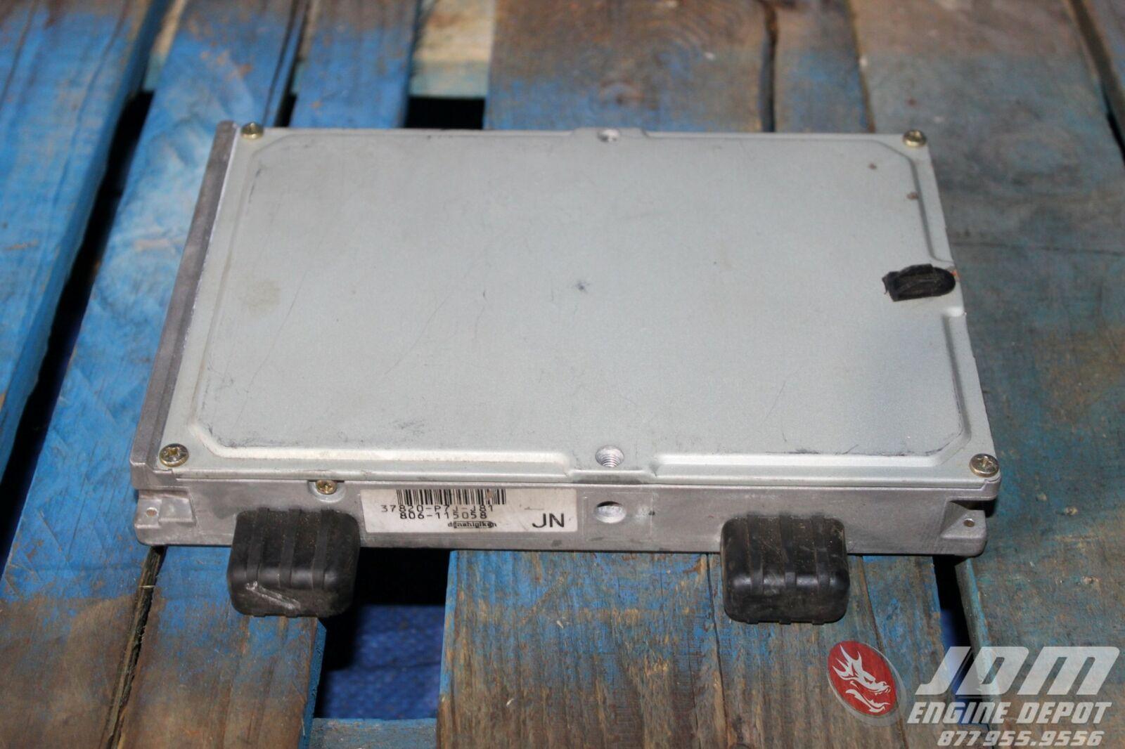 ECU CONTROL MOTOR HONDA CRX 136 PS 16V ZC1 37820-PJ1-752 213 37820-PJ1-7521   31