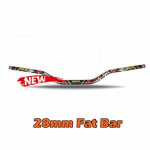 "1 1//8/"" 28mm Fat Handle Bar Handlebar For Pit Pro Dirt Bike Motorcycle"