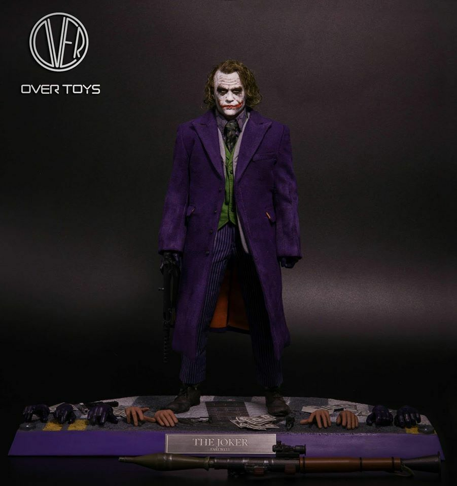 1/6 Over Toys Dark Knight Joker with Rooted Hair Joker Headsculpt Limited ver