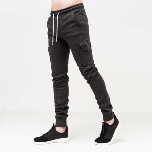 Crosshatch Mens Craycourt Joggers with Eyelets