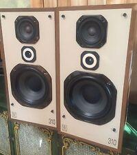 SWEET Sounding WHARFEDALE 310 FLOORSTANDING 3-Way 150W Ported SPEAKERS ~ ENGLAND