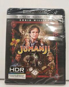 Jumanji Robin Williams 4K Ultra HD/Blu-ray/Digital 2017, 2 ...