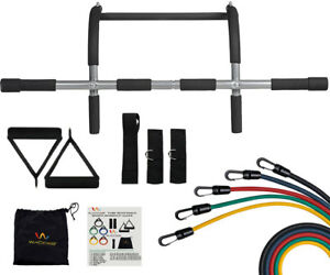 Door-Gym-Upper-Body-Iron-Workout-Bar-for-Pull-up-Chin-up-5-Resistance-Bands
