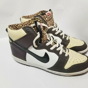 purchase cheap cb934 1f236 Details about Nike Dunk High Pro SB Ferris Bueller Leopard Supreme  305050-201 Size 12