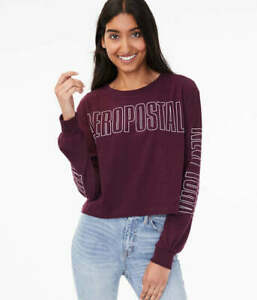 Authentic-Aeropostale-Cropped-Tee-Long-Sleeve