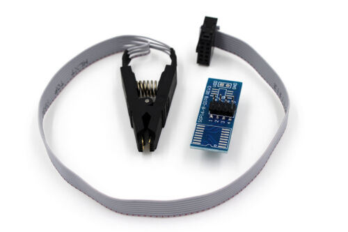 Programmer testing clip SOIC 8 DIP 8 Pin IC Tools Chip IC testing clip Cable