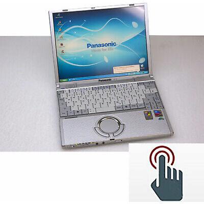 Petit Pc Portable Panasonic Cf-T2 Écran Tactile 1024x768 900g Facile