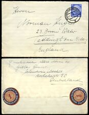 GERMANY 1934 LETTER + ENVELOPE SEALS 1872 TYPE