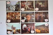 HAMMER - MASQUE DE FU MAN CHU - 1965 - SHARP - LEE C jeu B 9 photos