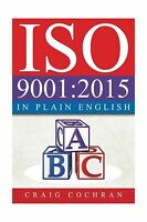 Iso 9001:2015 In Plain English Free Shipping