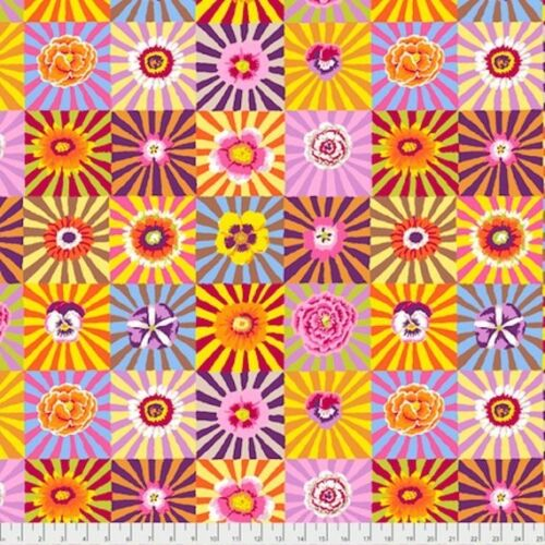 Bright Kaffe Fassett collective Sunburst Fat Quarter Sewing Crafting Supplies