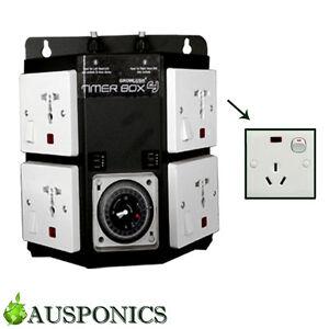 timer box 4 output 250w 400w 600w 1000w load 10a fuse for rh ebay com au