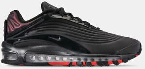 d0ba0fed2777a Nike Men s AIR MAX DELUXE SE Shoes Black Bright Crimson Anthracite ...