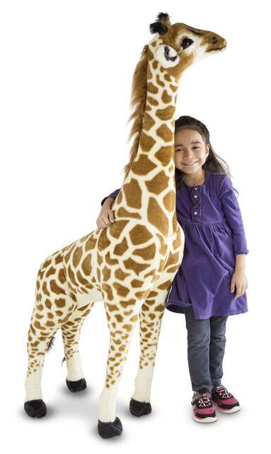 Giant Giraffe Lifelike Gift Stuffed Animal (over 1 meter tall) Melissa & Doug