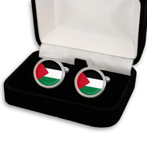 Palestina Palestina Bandera Para Hombre Gemelos grabado Caja De Regalo