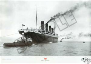RMS-TITANIC-Set-of-TEN-14x18-White-Star-Line-HARLAND-amp-WOLF-Lithograph-prints