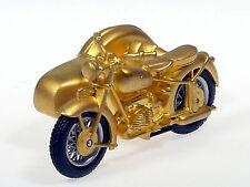 Schuco Piccolo Weihnachtsset 2001 1 x Motorrad vergoldet 800 ltd. # 50506001
