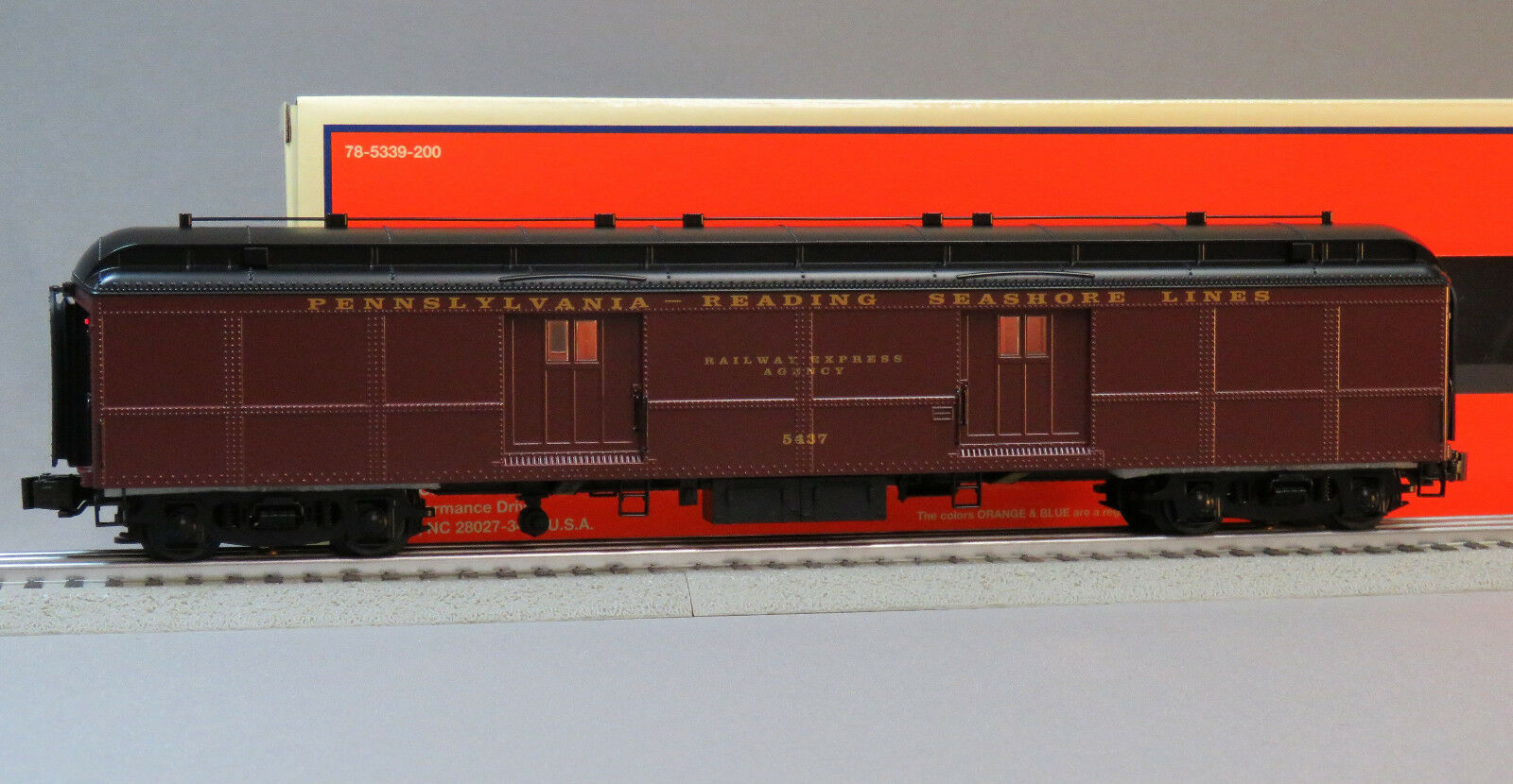 Lionel PRSL B60 Baggage Car 5437 O Gauge PRR Pennsylvania Train Coach  6-84995