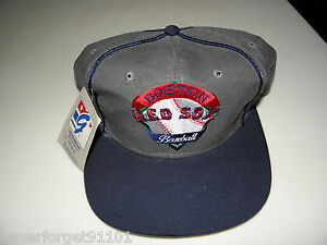NWT-VINTAGE-1990-RARE-034-THE-GAME-034-BOSTON-RED-SOX-Snapback-Hat-Cap-USA