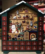 DOLLHOUSE Advent Calendar 8110 Santa/'s Workshop Christmas Jacqueline/'s Miniature