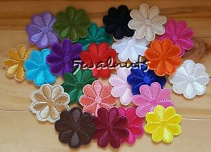 5pcs-Mixed-Daisy-Flowers-Iron-on-Transfer-Embroidered-Patch-Applique