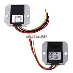 DC-DC Voltage Converter Regulator Buck Adapter 12V/24V to 6V 5A 24V to 12V 5A
