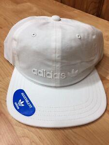 98d671454a049 New Men s Adidas Original Relaxed Decon II White White Trefoil ...