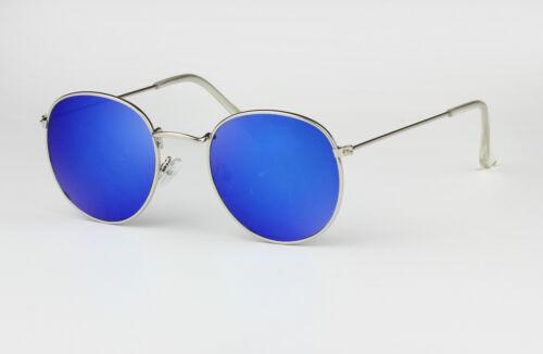 Oval Polarised Lens Metal Frame Classic Retro Sunglasses 100/% UV Protection