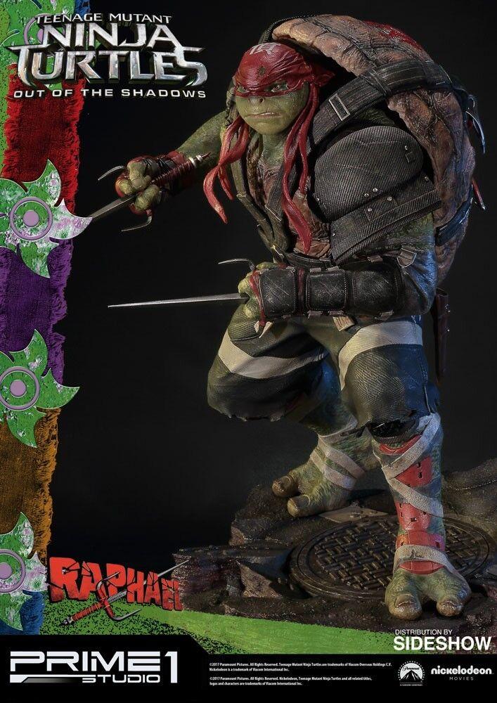 Prime 1 Studios Teenage Mutant Ninja Turtles RAPHAEL Statue New