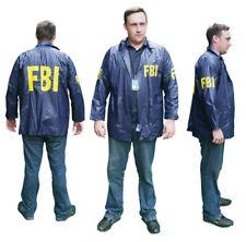 """FBI """"SPECIAL AGENT"""" Windbreaker JACKET Costume - Lot of Fancy Dress - New"""