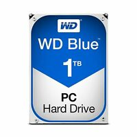 Wd Blue 1tb Sata 6 Gb/s 7200 Rpm 64mb Cache 3.5 Inch Desktop Ha... Free Shipping