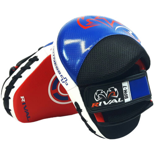 Ergonomic Punch Mitts Rival Boxing Fitness