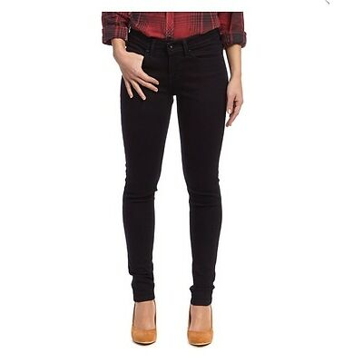 Women's Levi's SMOOTH BLACK Super Skinny Ultra Stretch Legging Jeans  REF:Z6