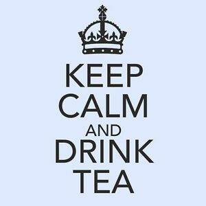 KEEP-CALM-AND-DRINK-TEA-Kitchen-Room-Cupboard-Wall-Art-Vinyl-Sticker-Small