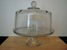 Princess House Fantasia Domed Cake Plate/Punch Bowl