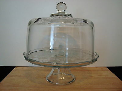 Princess House Fantasia Domed Cake Plate/Punch Bowl & Cake Plates collection on eBay!