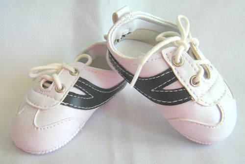 Reborn Doll Tennis Shoes White /& Navy 85 MM ~ REBORN DOLL SUPPLIES