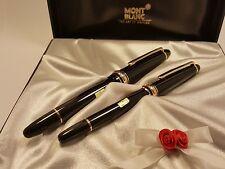 MONTBLANC Meisterstuck LeGrand Fountain Pen & Classique Fountain Pen Wedding Set